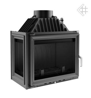 Insatskamin MAJA 12 kW av gjutjärn VÄNSTER sidoglas