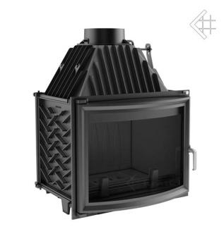 Spisinsats ZUZIA 16 kW av gjutjärn VÄLVTGLAS + EXTERNLUFT