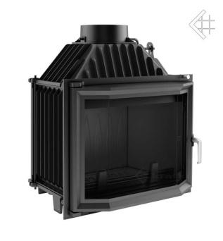 Insatskamin av gjutjärn MAJA 12 kW VINKLAT GLASRUTA + EXTERNLUFT