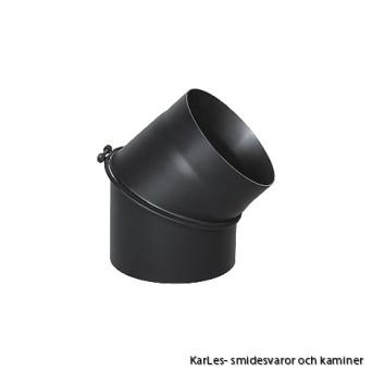 Kaminrör böj_vinkel rökrör_45° Ø 130mm