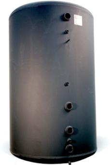 Ack-tank Ts 1500 l. Oisolerad med eluttag,Mått(1050x1990)