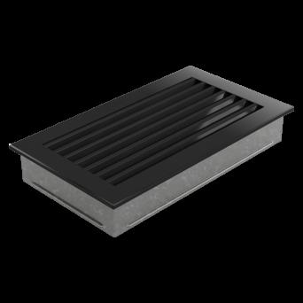 VARMLUFTS_ventil GALLER pulverlackerat FRESH 17/30 - svart