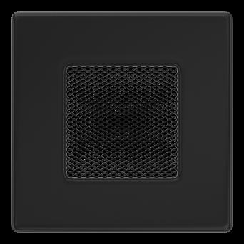 GALLER pulverlackerat 11/11 - svart