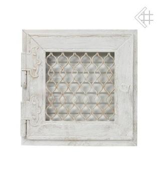 Gallret i RETRO stil, enkel, öppningsbar, antik vit _ 22/22