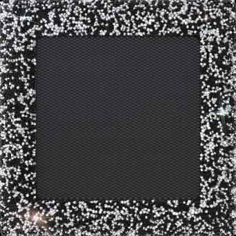 GALLER VENUS med swarovski kristaller 17/17 - svart/silver