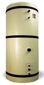 Ack-tank Ts 750/120 L, förråd Cu + 15m solslinga