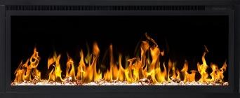 Elektrisk eldstad ROYAL 42 (106cm) med en realistisk eldeffekt + värmefunktion