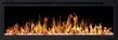 Elektrisk eldstad ROYAL 50 (126cm) med en realistisk eldeffekt + värmefunktion - ROYAL-50