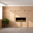 Elektrisk eldstad ROYAL 65 (165cm) med en realistisk eldeffekt + värmefunktion