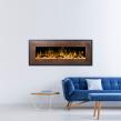 Elektrisk eldstad Mohave Bronze med en realistisk eldeffekt + värmefunktion