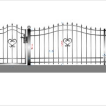 staket hjärta 2