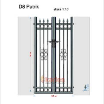 dörr D8 dubbel Patrik