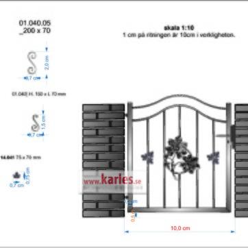 gångrind med kastanj 03.314.09 med extra små enkel _ handtag enkel