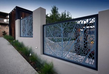 staket, modern