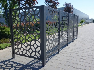 staket, räcke