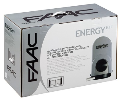 FAAC drivutrustning, Paketlösning: Energy Kit - Paketlösning: Energy Kit