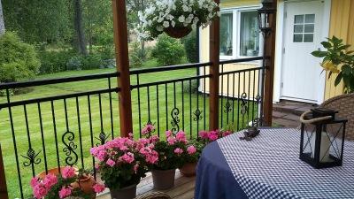 RÄCKE B7b  balkonger, terrasser och altaner