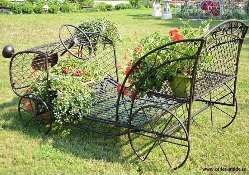 Trädgård,bänk