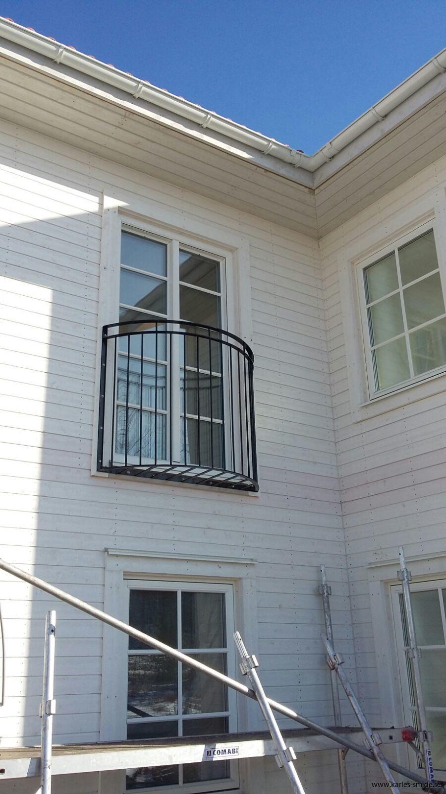 fransk balkong, räcke