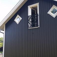 Fransk balkongräcke Träslöv Varberg modern 0011