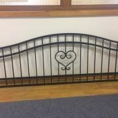 hjärta staket 80cm hög