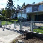 staket Harald aluminium white (1)