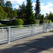 staket Harald aluminium white (3)