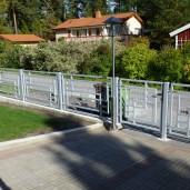 staket Harald aluminium white (4)