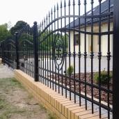 staket, grind Fjärill (1)