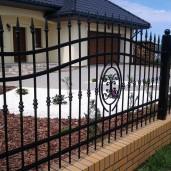 staket, grind Fjärill (2)