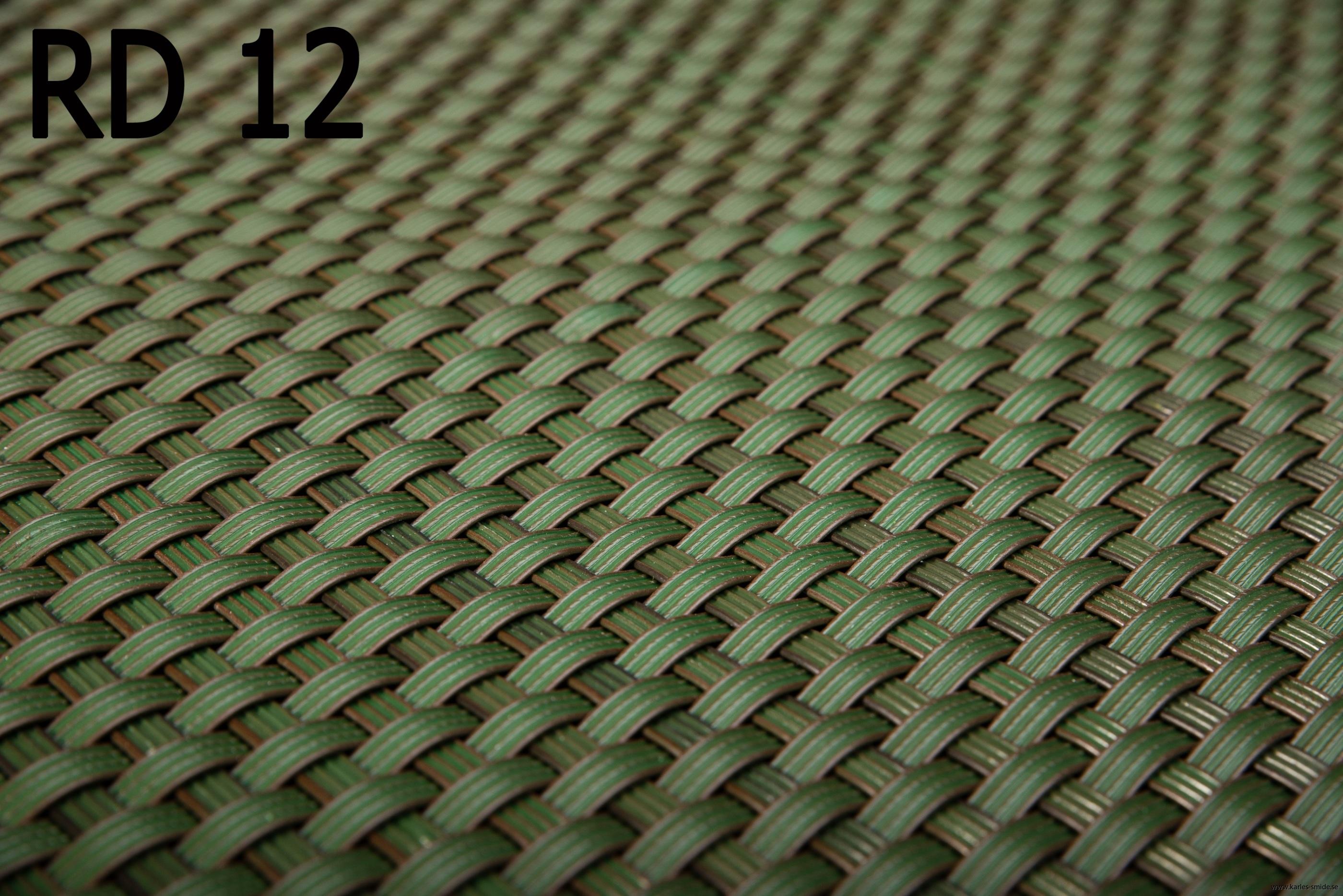 RD 12  mörk grön