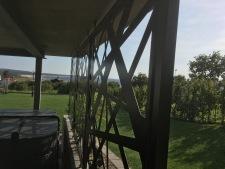 pool skärm, staket,modern 0011
