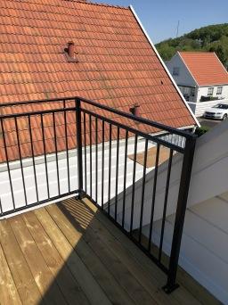 KAMPANJ. RÄCKE B6_ B6a  balkonger, terrasser och altaner
