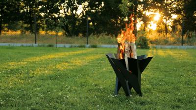 Uteplats/trädgårds värmare 55x55cm
