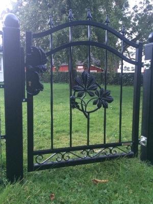 Smidesgrind_ dörr KASTANJER_ H.105 L.100cm