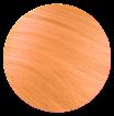 CLIP-ON BANG - Soft Pastel Orange