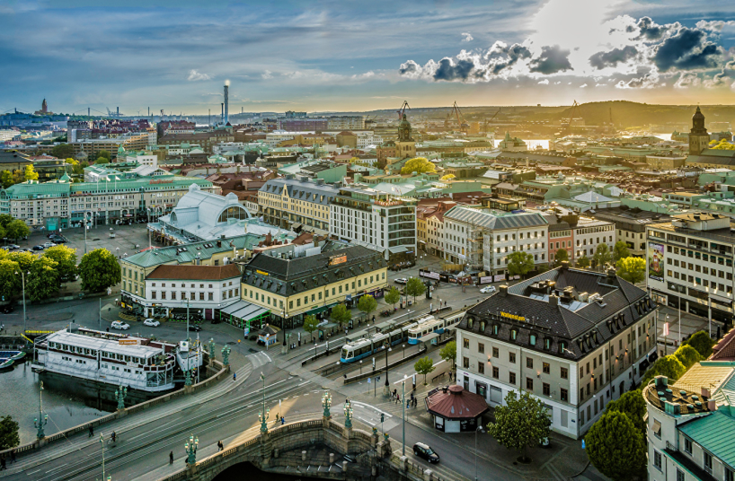 Central Gothenburg. Photo: Per Pixel Petersson/imagebank.sweden.se