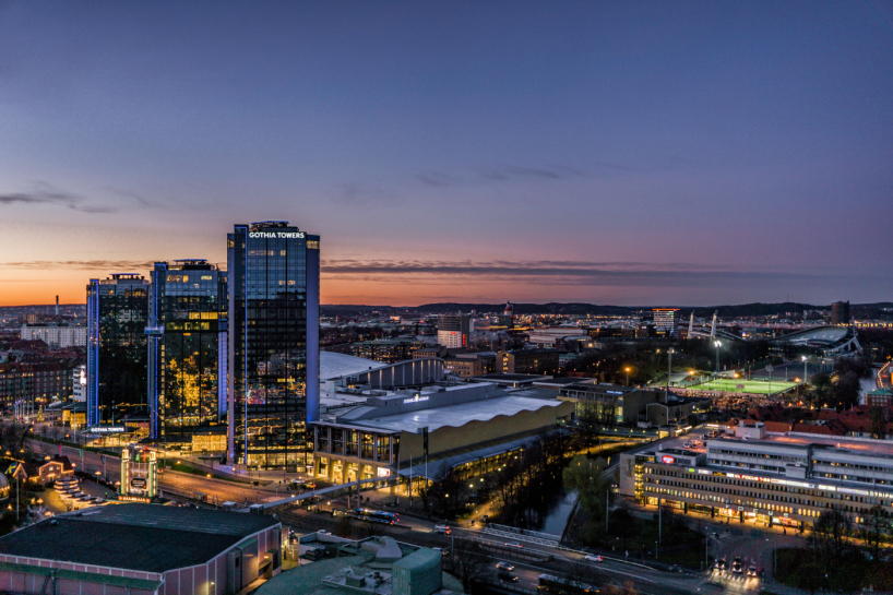 Gothia Towers. Photo: Per Pixel Petersson/imagebank.sweden.se