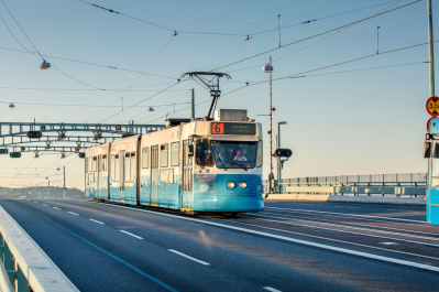Trams of Gothenburg. Photo: Emelie Asplund/imagebank.sweden.se