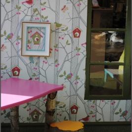 Simsalabim Förvandlingsdesign_Bord, pallar, fönster, tavla_2012