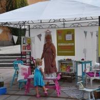 Utställare under Barnens Lördag, Höganäs, 2011