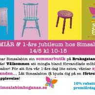 Nyöppning av Simsalabims butik, Höganäs, 2010