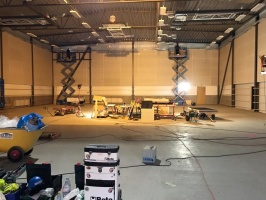 RR Konsult installerade fasadbelysning till en av Riksbyggens bostadsrättsföreningar
