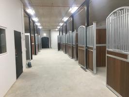 RR Konsult anlitades vid nybyggnation av ett häststall i Mjöhult
