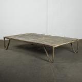 Vintage stort soffbord