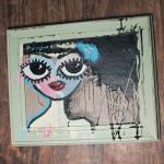 Chalkpainting original - HANNA, 3490 sek (51x43cm)