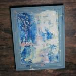 Chalkpainting original - SUMMER SKY, 3490 sek (47x37cm)