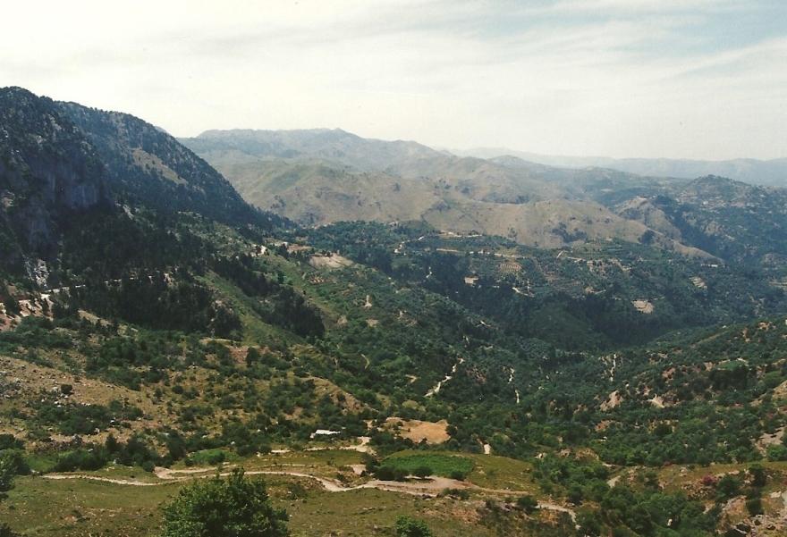 Maj 1994. Elsker disse udsigter, disse vidder, så storslået. Mit Kreta!
