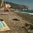 I Agia Roumeli tager færgen imod vandrerne fra Samaria-kløften.