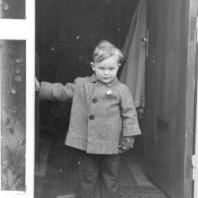 Ole Lund, begyndelsen af 1940'erne.